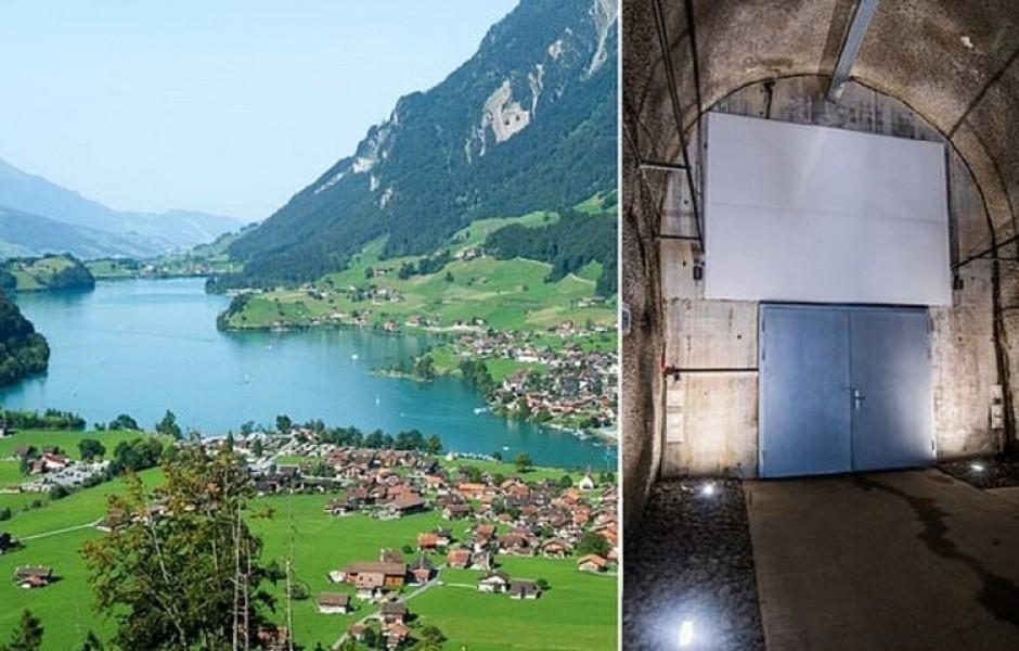 Швейцарцы строят фантастическое хранилище для богачей (4 фото)