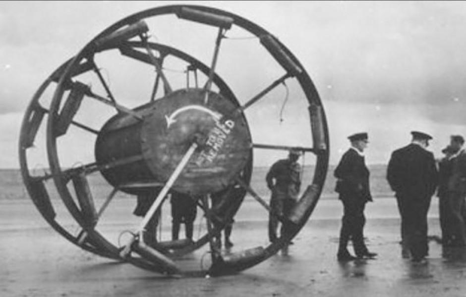 «Великий Панджандрум»: странное оружие Второй мировой, которое так и не было использовано (видео)