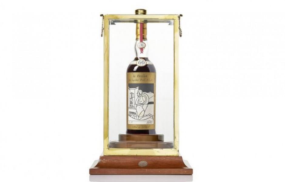 Самый дорогой алкоголь, проданный на аукционах
