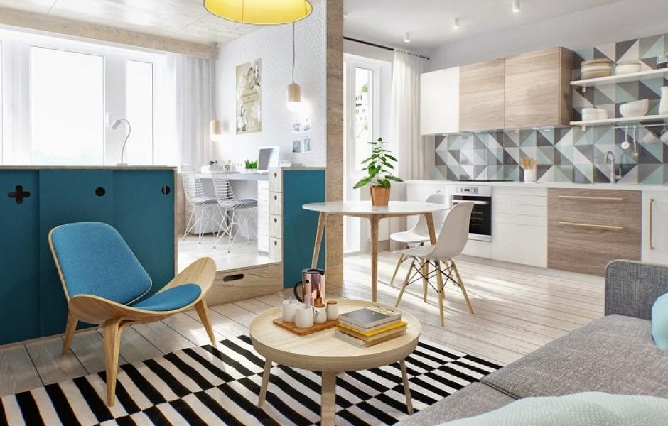 Малогабаритная квартира: как сделать ее уютной и функциональной