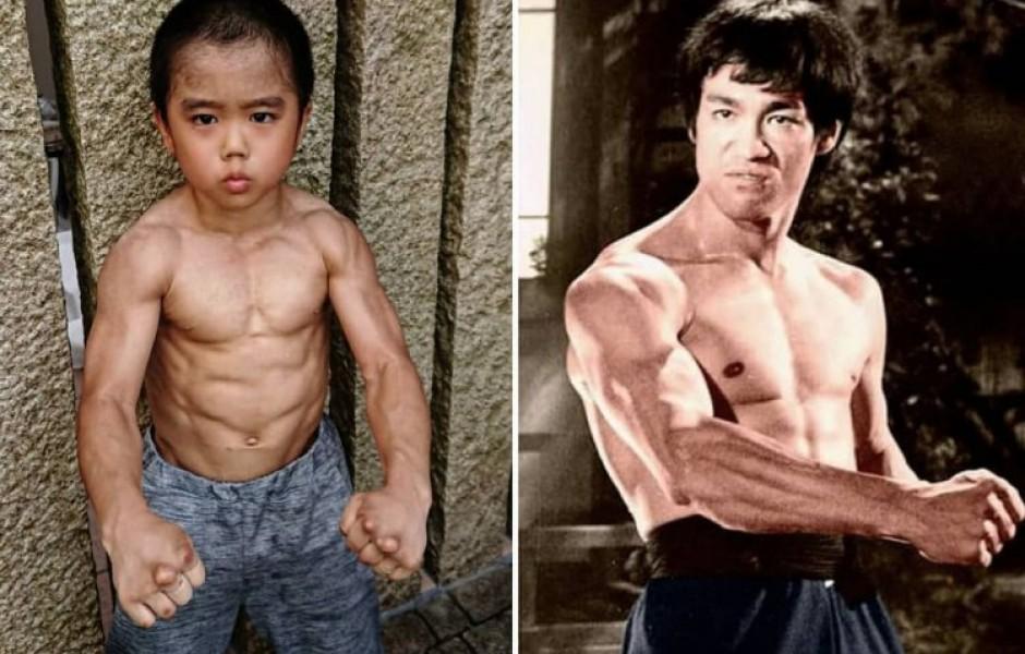 Маленький Брюс Ли из Японии
