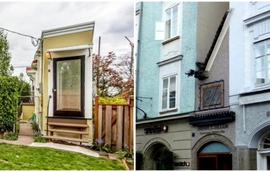 4 самых узких дома в мире