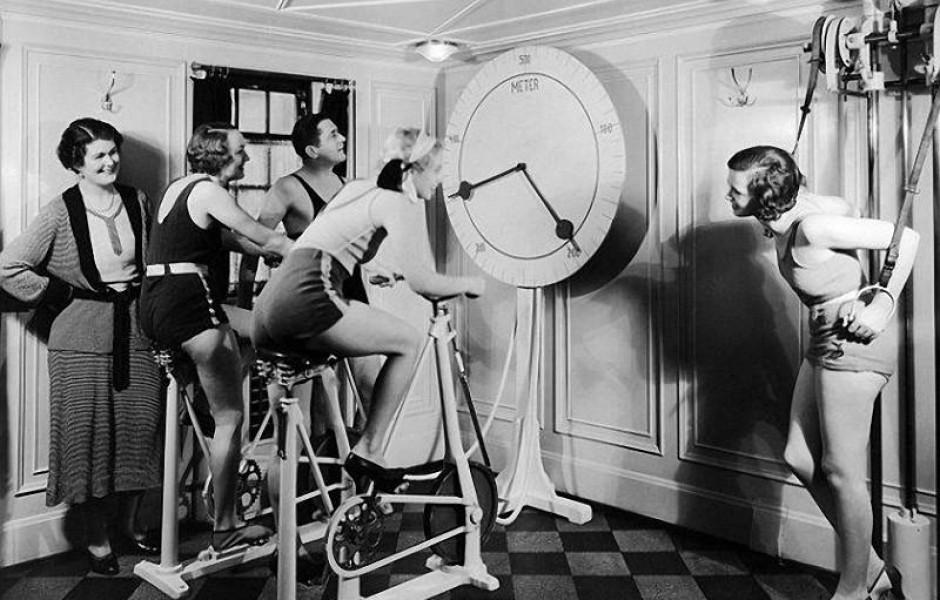 Как занимались фитнесом в начале 20 века