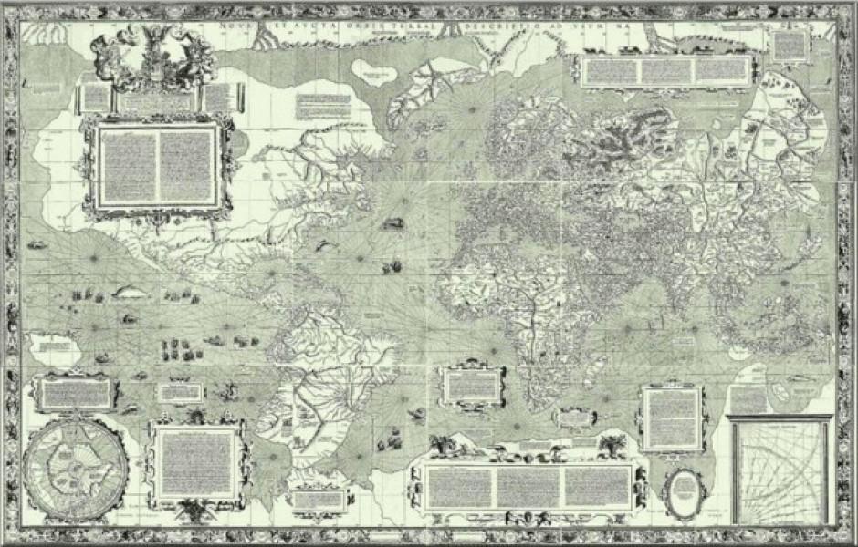 Карты, которые изменят ваше представление о мире (8 фото)