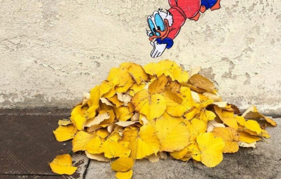 Новые примеры забавного стрит-арта на улицах Лиона (41 фото)