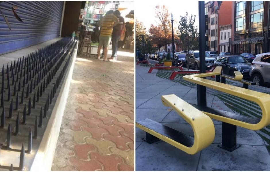 Анти-бездомная архитектура: новаторский дизайн или жесткая дискриминация