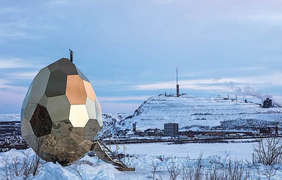 В Швеции построили сауну в виде яйца