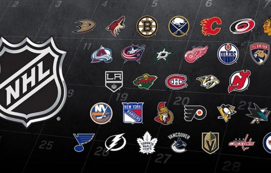 Эмблемы 15 клубов НХЛ и их история возникновения