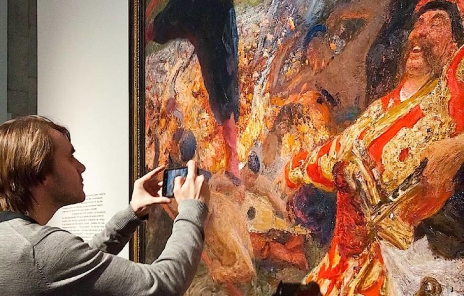 Какого живописца и почему не пускали в Третьяковскую галерею