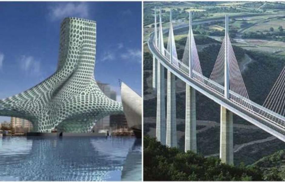 8 мостов с футуристическими формами