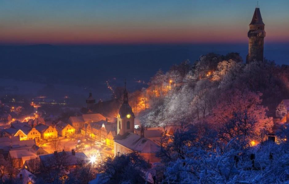 23 живописных города, в которых обитает зимняя сказка