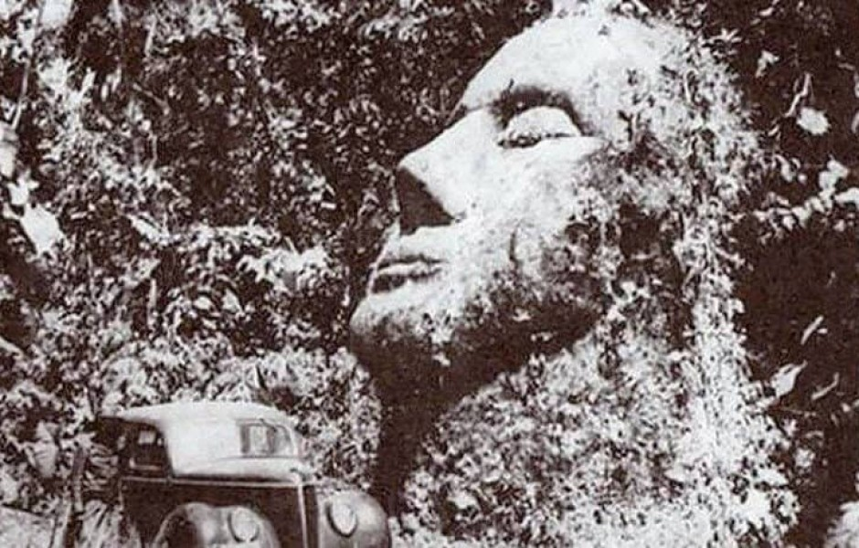 Загадка гигантской каменной головы в Гватемале