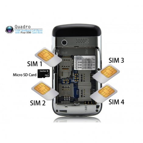 Новый телефон Flying F160 Quad SIM на 4 SIM-карты (2 фото)