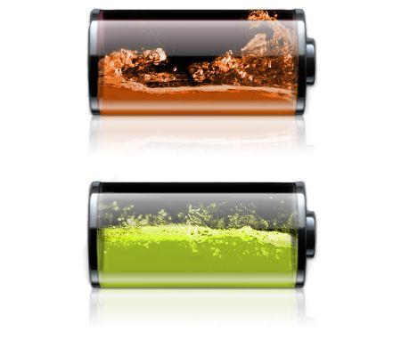 Батареи, функционирующих с любой жидкостью