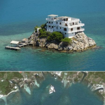 Самые маленькие обитаемые острова планеты.