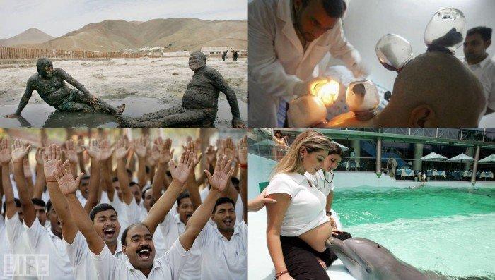Самые странные в мире виды лечения (15 фото)