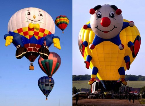 Шоу воздушных шаров Warsteiner International Hot Air Balloon Show (31 фото)