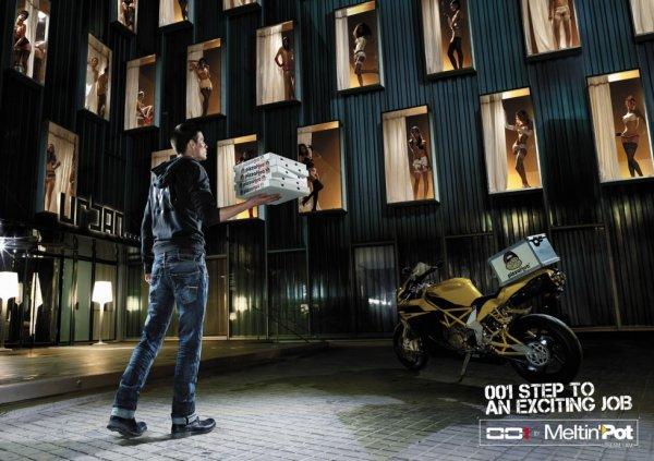 Лучшие рекламные принты - часть 2 (27 фото)