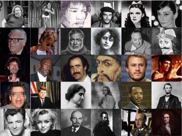 106 фактов об известных людях