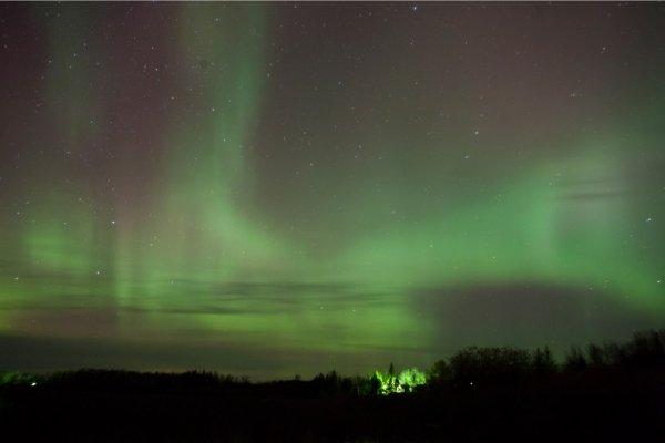 Невероятные небеса Норвегии (7 фото)