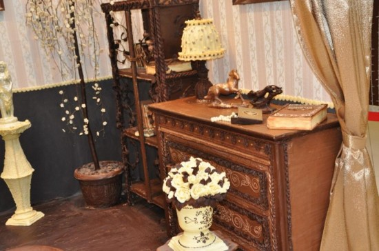 Шоколадная комната в Калиниграде (6 фото)