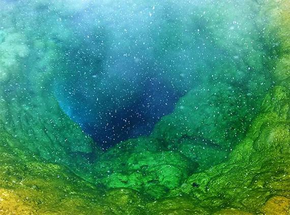 Озеро Утренней Славы в США (10 фото)