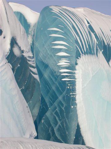 Лед в Антарктиде (5 фото)