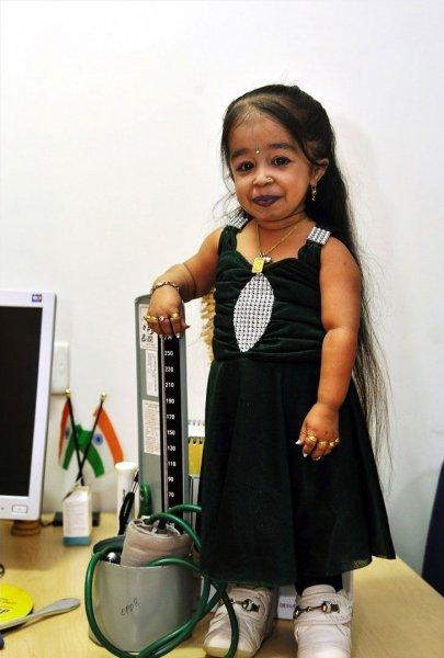 Рекорд Гиннеcса: самая маленькая женщина в мире (8 фото)