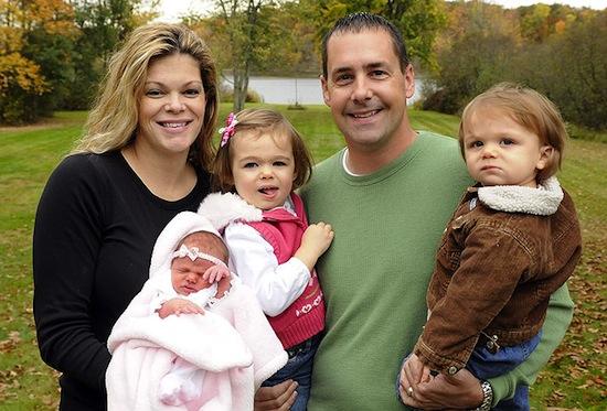 Американка Барбара Сопер родила детей 08.08.2008, 09.09.2009 и 10.10.2010