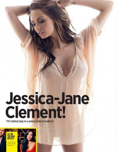 3 фотосессии Джессики-Джейн Клемент (Jessica-Jane Clement) в журнале Nuts (32 фото)