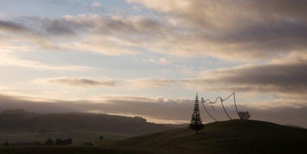 "Скульптура Нила Доусона ""Горизонт"" (6 фото)"
