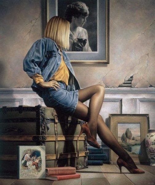 Фантастические женщины художника. Paul Kelley (26 фото)