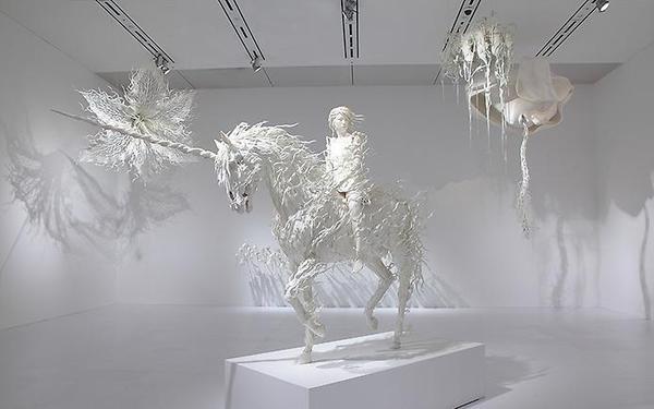 Динамические скульптуры Мотохико Одани (10 фото)
