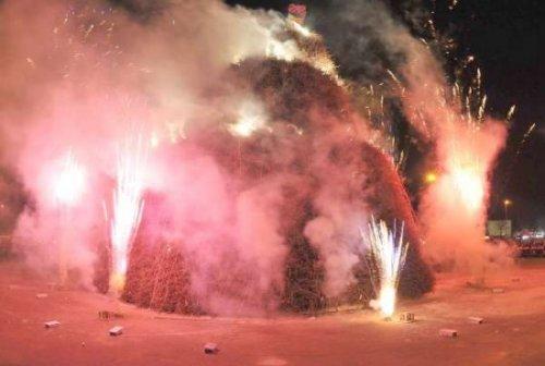 Фестиваль огня в Италии (6 фото + видео)
