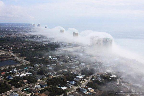 Небесное цунами в США (6 фото)