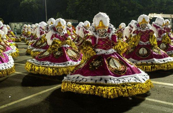Карнавал в Рио-де-Жанейро (21 фото)