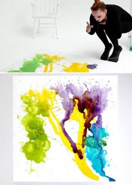 9 странных художников и их творений (9 фото)