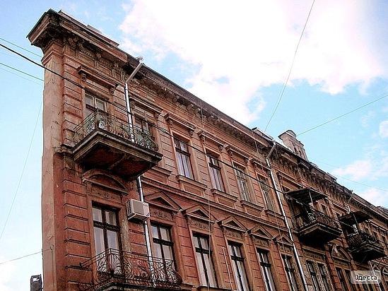 «Дом одной стены» в Одессе
