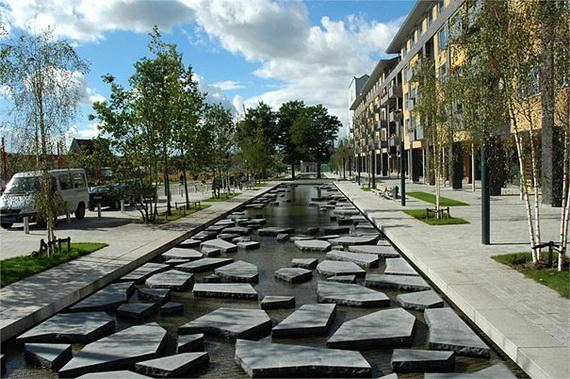 Урбанистические льдины города Энсхеде (5 фото)