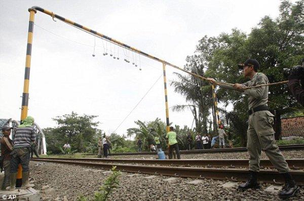 Как власти Индонезии борятся с «зайцами» (3 фото)