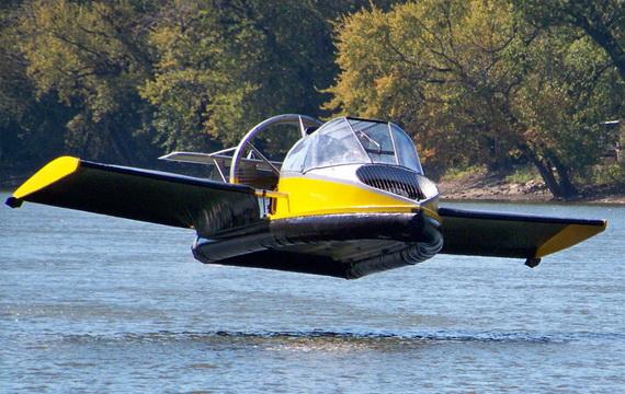 Водно-воздушное судно Flying Hovercraft (9 фото)