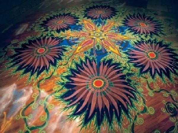 Разноцветный песок (8 фото + видео)