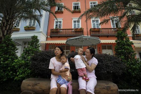Китайский клон города Гальштат (14 фото)