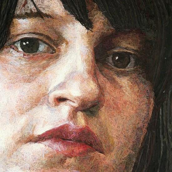 Портреты из расплавленного пластилина (5 фото)