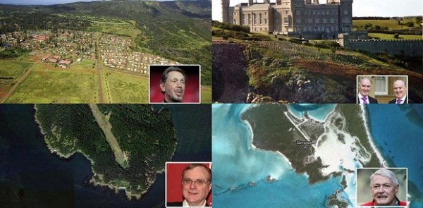 8 самых дорогих частных островов миллиардеров в мире
