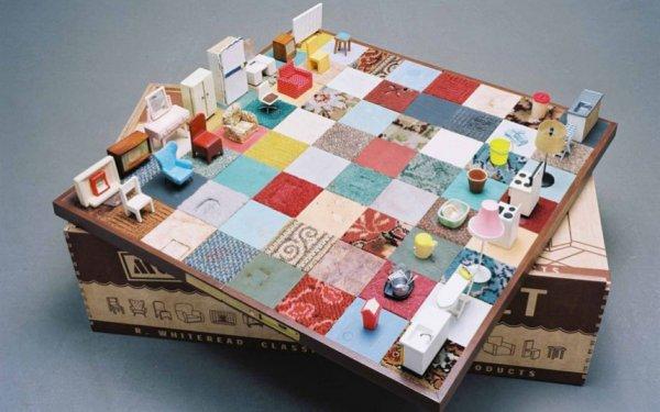 Выставка художественных шахмат (11 фото)
