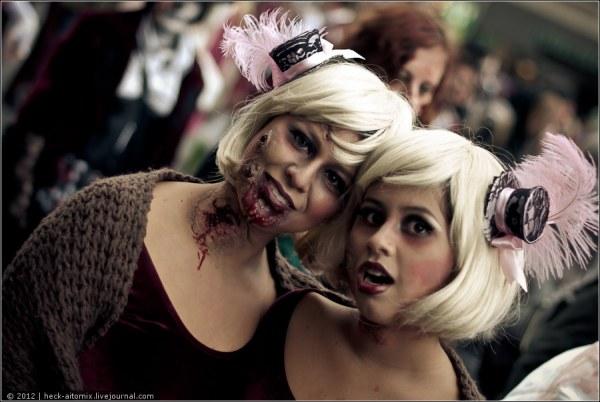 Зомби парад в Торонто (29 фото)