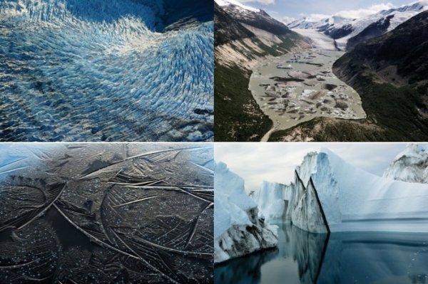 Лед: Портреты исчезающих ледников (8 фото)