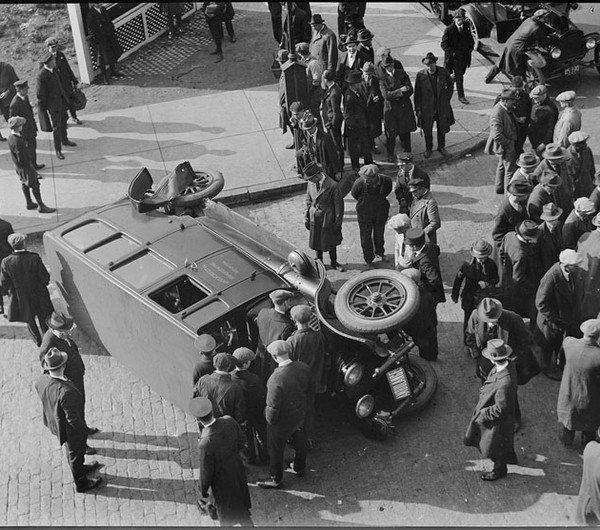 ДТП начала XX века: как это было (9 фото)