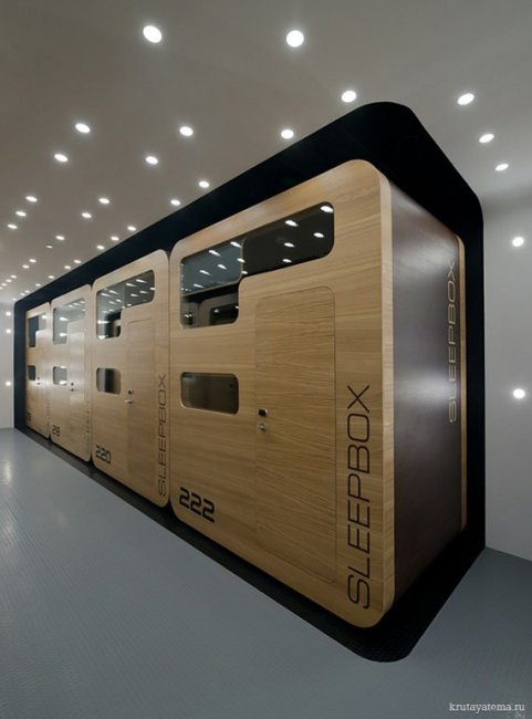 Московский Sleepbox отель (11 фото)